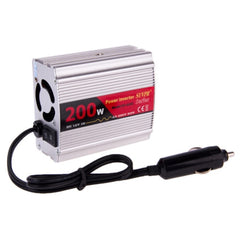 SUVPR DY-8103 200W DC 12V to AC 220V Car Power Inverter with 500mA USB Port & Universal Power Socket