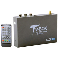 DVB-T2 HD High Speed Single Antenna Mobile Digital Car TV Receiver Support H.264/MPEG2/MPEG4 /80KM/hour