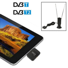 Micro USB Digital TV Receiver / Mobile Watch DVB-T2 TV Tuner Stick for Android Phones / Pad