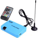 Stand-alone DVB-T Receiver TV / LCD Box(Blue)