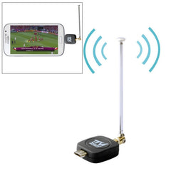 Micro USB 2.0 Mobile Watch DVB-T TV Tuner Stick for Android Phone/Pad(Black)