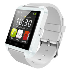 U8 Plus 1.44 Inch Capacitive Touch Screen Bluetooth V4.0 Smart U Watch Support Pedometer / Sleep Monitoring / Remote Capture / Receive the call / Anti-lost(White)