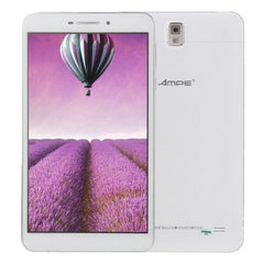 Ampe A695 Tablet PC 8GB 6.95 inch Android 4.4 3G Phone Call CPU: MTK8382 Quad Core 1.3GHz RAM: 1GB GPS(White)