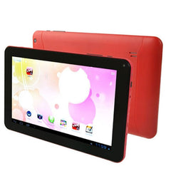 Android 4.0 Tablet PC 8GB Android 4.0 AllWinner A33 Quad Core up to 1.2GHz RAM: 1GB WiFi(Red)