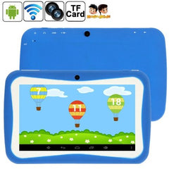 7.0 inch Kids Tablet PC 8GB Android 5.1 RK3126 Quad Core 1.3GHz(Blue) - 1 x English Manual