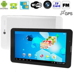 7.0 inch Android 4.1 Tablet PC MD700 3G Mobile Phone Function Dual SIM CPU: MTK8312 1.2GHz(Silver)