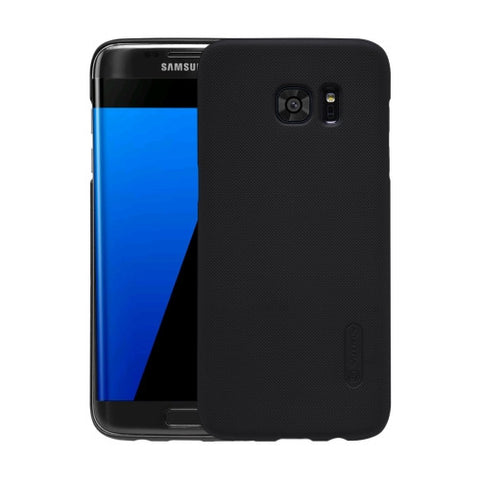 NILLKIN Frosted Shield for Samsung Galaxy S7 Edge / G935 Concave-convex Texture PC Protective Case Back Cover(Black)