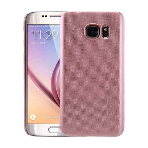 NILLKIN Frosted Shield for Samsung Galaxy S7 / G930 Concave-convex Texture PC Protective Case Back Cover(Rose Gold)