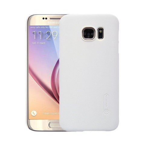 NILLKIN Frosted Shield for Samsung Galaxy S7 / G930 Concave-convex Texture PC Protective Case Back Cover(White)