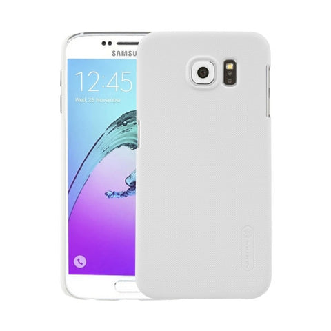 NILLKIN Frosted Shield for Samsung Galaxy S6 / G920 Concave-convex Texture PC Protective Case Back Cover(White)