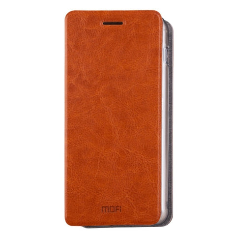 MOFI for Samsung Galaxy A8(2016) / A810 Crazy Horse Texture Horizontal Flip Leather Case with Holder(Brown)