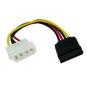 Power Cable Molex To 1X Sata 10 Cm