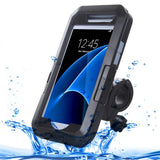 For Samsung Galaxy S7 / G930 IPX8 Plastic + Silicone Waterproof Protective Case with Bike Holder