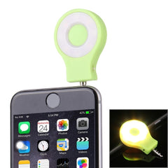 RK-07 Universal Night Using Selfie Enhancing 8 LED Flash Light for iPhone & Android Smartphones & Tablets & Digital Camera(Green)