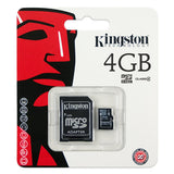 4Gb Micro Sd Hc Class 4 Flash Card