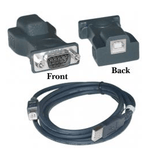 Usb B Male To Serial Port Connector - Zasttra.com