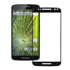 iPartsBuy for Motorola Moto X (3rd gen) Front Screen Outer Glass Lens Small Quantity Recommended before Motorola Moto X (3rd gen) Launching(Black)