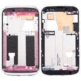 iPartsBuy for HTC Desire X / T328e Front Housing LCD Frame Bezel Plate(White)