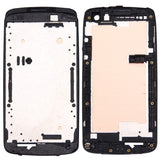 iPartsBuy for HTC Desire 500 Front Housing LCD Frame Bezel Plate(Black)