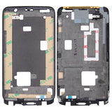 iPartsBuy for HTC One X Front Housing LCD Frame Bezel Plate(Black)