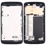 iPartsBuy for HTC Desire 526 Front Housing LCD Frame Bezel Plate(Black)