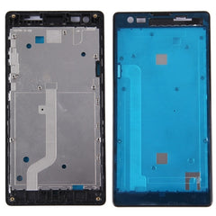 iPartsBuy Xiaomi Redmi (3G Version) Front Housing LCD Frame Bezel(Black)