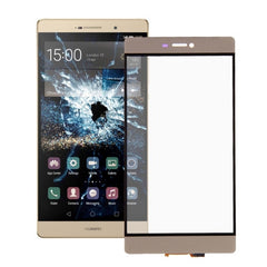 iPartsBuy Huawei P8 Touch Screen Digitizer Assembly(Gold)