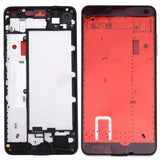 iPartsBuy for Microsoft Lumia 650 Front Housing LCD Frame Bezel Plate(Black)