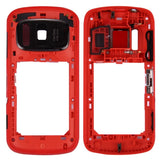 iPartsBuy for Nokia 808 PureView Middle Frame Bezel (Red)