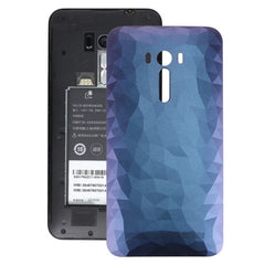 iPartsBuy for Asus Zenfone Selfie / ZD551KL Original Crystal Diamond Version Back Battery Cover(Dark Blue)