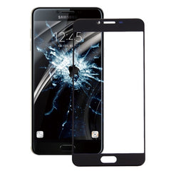 iPartsBuy for Samsung Galaxy C5 Front Screen Outer Glass Lens(Black)