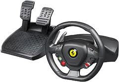 Steering Wheel With Pedals Etc