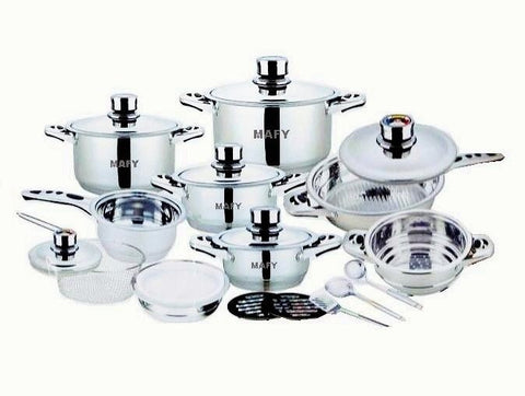 MAFY 21pcs Cookware Set