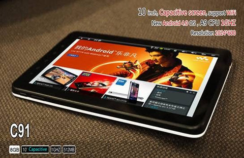 Zenithink C91 Upgrade 10 Inch Android Tab