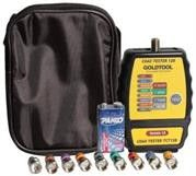 Goldtool Coax Cable Mapper 8 ID Finder with Toner-Handheld testing device designed for CATV and Security Installers