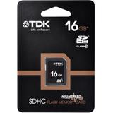 Sdhc Flash Memory Card 16Gb Tdk Class10 - Zasttra.com