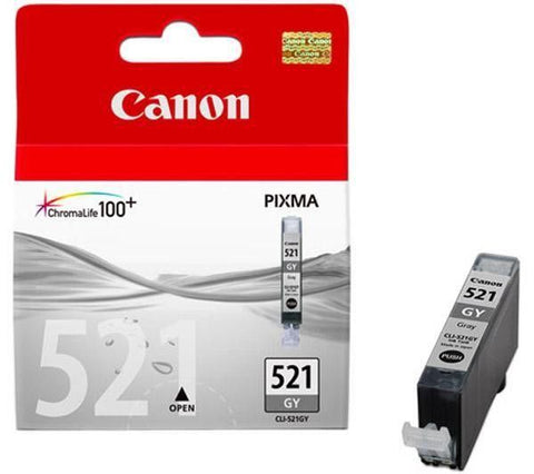 Original Canon CLI-521 Grey Ink Cartridge