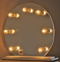 Hollywood Glam Vanity Mirror Timeless Round