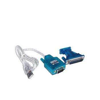 Usb To 9 Pin Serial Cable 1.8M 25Pin