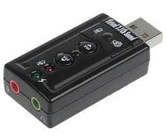 External Usb 7.1 Channel Sound Adapter