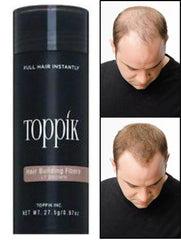 Toppik - Light Brown 27.5g - Hair Fiber - Instant Thicker Hair for Hair Loss - (75 Days Supply)