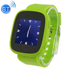 KEN XIN DA S7 Smart Watch Phone 1.54 inch Touch Screen Support Heart Rate Bluetooth FM Radio MP4 GSM(Green)