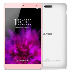 ONDA V80 SE Tablet ROM: 32GB CE / FCC / ROHS / WEEE Certificated Dual Camera 8.0 inch HD Screen ONDA ROM 2.0 Android 5.1 OS Intel Z3735F Quad-Core 64-bit 1.83GHz RAM: 2GB(Pink)