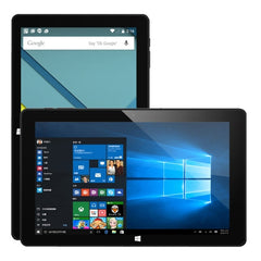 Cube i10 Dual OS 2-in-1 Tablet ROM: 32GB 10.6 inch Android 4.4 + Windows 10 Intel Atom Z3735F Bay trail-T Quad Core 1.33-1.83GHz RAM: 2GB (Black)