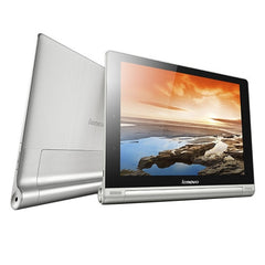 Lenovo YOGA Tablet 10 HD+ Tablet PC 16GB With Foldable Holder 10.1 inch Android 4.3 MSM8268 Quad Core up to 1.6GHz RAM: 2GB BT WiFi(Silver)