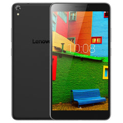 Lenovo PB1-750N Tablet 16GB Network: 4G 2.4GHz / 5GHz Dual Band WiFi Dual SIM Dual Camera 6.98 inch IPS Screen Android 5.1 OS Qualcomm MSM8916 QC Quad-Core 1.2GHZ 64-bit RAM: 1GB Support 64GB Micro SD / TF Card WiFi Bluetooth GPS(Black)