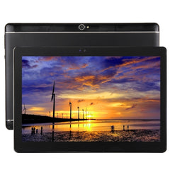 T990 10.1 inch 3G Phone Call Tablet PC 32GB Android 6.0 MTK6592 Octa Core 1.3GHz RAM: 2GB Dual SIM Support GPS Equipped with Leather Case(Black)