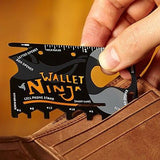 Wallet Ninja 18-in-1 Credit Card Sized Multi-tool - Zasttra.com