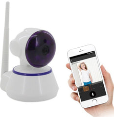 Indoor HD Wireless network IP Alarm Camera with Mobile Viewing