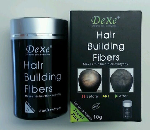DeXe Hair Building Fibers - Black